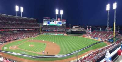 Great American Ball Park, section: 431, row: A, seat: 14