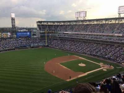 Guaranteed Rate Field, section: 546, row: 11, seat: 22