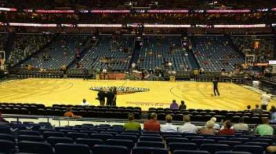 Smoothie King Center, section: 124, row: 15, seat: 13