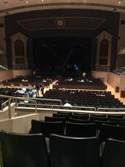 Township Auditorium, section: First Balcony Section G (FBAG), row: G, seat: 2