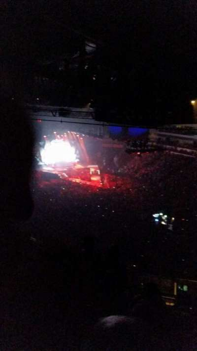 Intrust Bank Arena, section: 212, row: 7?, seat: 1