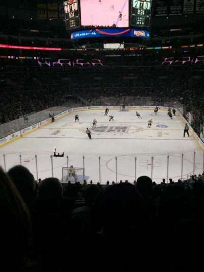 Staples Center, section: 207, row: 7, seat: 9
