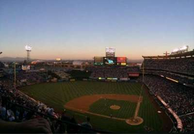 Angel Stadium, section: 517, row: A, seat: 10