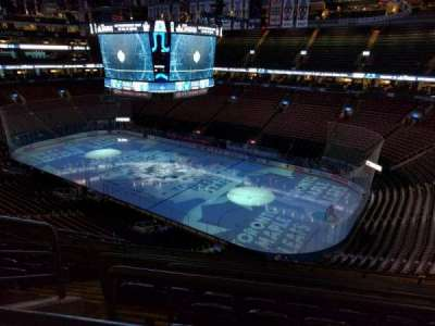 Air Canada Centre, section: 306, row: 7, seat: 18