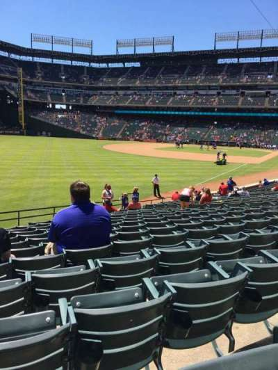 Globe Life Park in Arlington, section: 11, row: 20, seat: 4