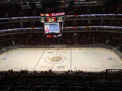 United Center, section: 334, row: 14, seat: 5