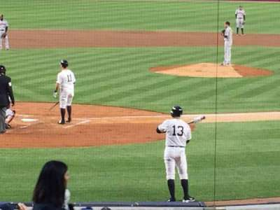Yankee Stadium, section: 119, row: 8
