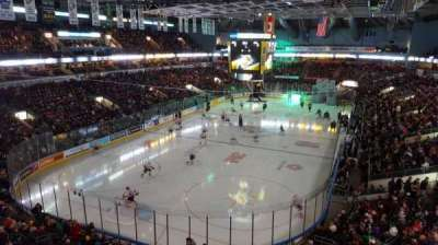 Budweiser Gardens, section: 308, row: D