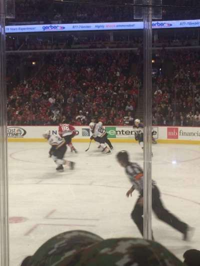 United Center, section: 109, row: 5, seat: 18