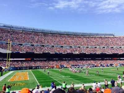 Soldier Field, section: 114, row: 11
