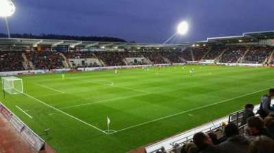 New York Stadium, section: NS, row: K, seat: 4