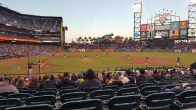 AT&T Park, section: 110, row: 23, seat: 1