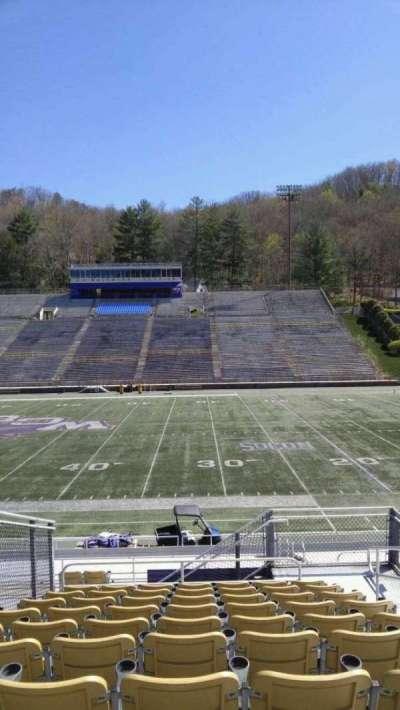 E. J. Whitmire Stadium, section: J, seat: 4