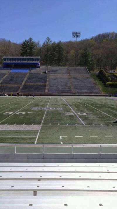 E. J. Whitmire Stadium, section: I, seat: 16