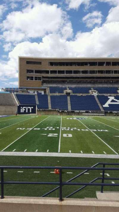 Maverik Stadium, section: 17, row: 5, seat: 3