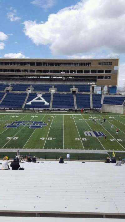 Maverik Stadium, section: 14, row: 39, seat: 15