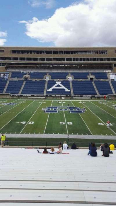 Maverik Stadium, section: 15, row: 28, seat: 18