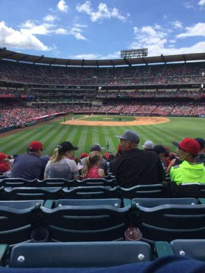 Angel Stadium, section: P237, row: Z, seat: 8