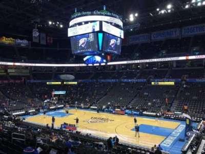 Chesapeake Energy Arena, section: 104