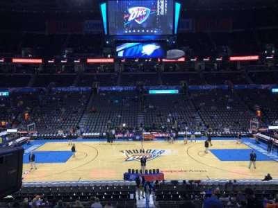 Chesapeake Energy Arena, section: 106