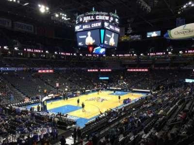 Chesapeake Energy Arena, section: 109