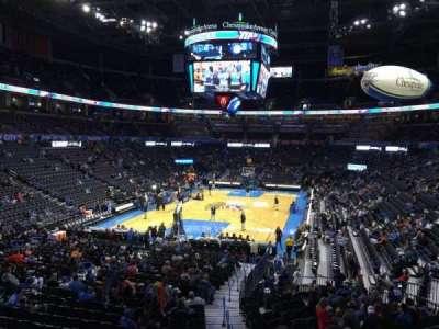 Chesapeake Energy Arena, section: 110