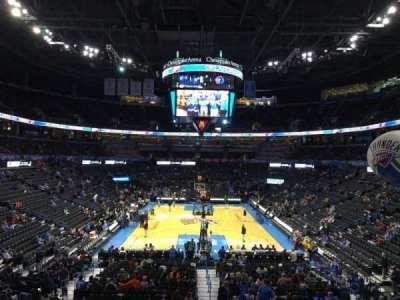 Chesapeake Energy Arena, section: 111