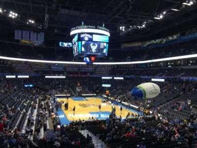 Chesapeake Energy Arena, section: 112