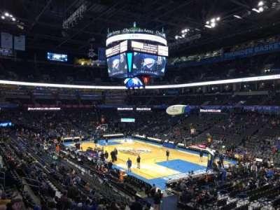 Chesapeake Energy Arena, section: 113