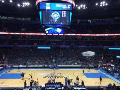 Chesapeake Energy Arena, section: 116