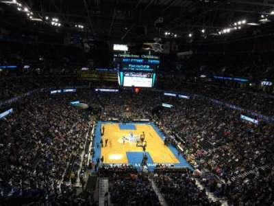 Chesapeake Energy Arena, section: 302