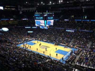 Chesapeake Energy Arena, section: 306