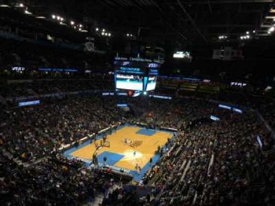 Chesapeake Energy Arena, section: 329