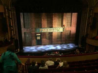 Al Hirschfeld Theatre, section: Mezzanine Center, row: H, seat: 115