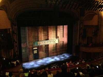 Al Hirschfeld Theatre, section: Mezzanine Left, row: K, seat: 21