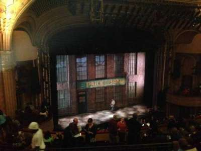 Al Hirschfeld Theatre, section: Mezzanine Left, row: M, seat: 17