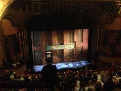 Al Hirschfeld Theatre, section: Mezzanine Left, row: N, seat: 1