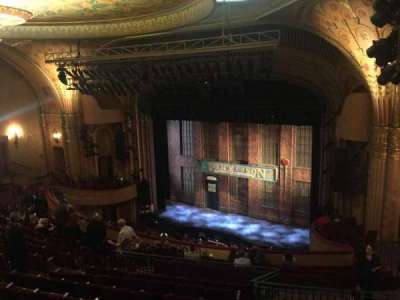 Al Hirschfeld Theatre, section: Mezzanine Right, row: P, seat: 26