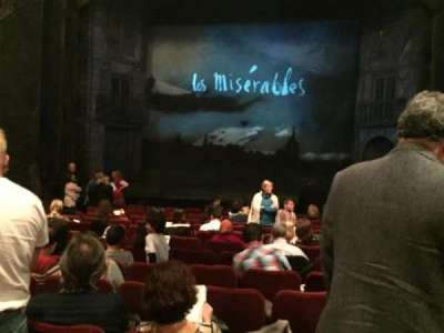 Imperial Theatre, section: Orchestra Center, row: M