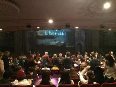 Imperial Theatre, section: Orchestra Center, row: S