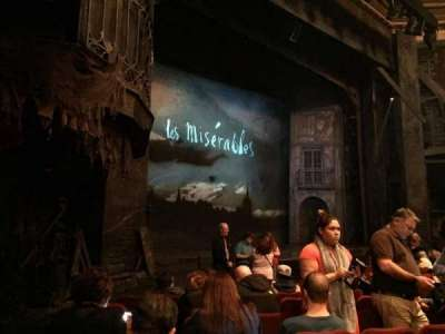 Imperial Theatre, section: Orchestra Left, row: E, seat: 26