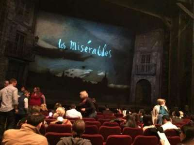 Imperial Theatre, section: Orchestra Left, row: L