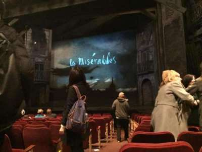Imperial Theatre, section: Orchestra, row: P, seat: 9