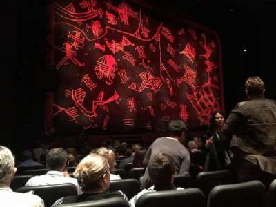 Minskoff Theatre, section: Orchestra, row: L, seat: 7