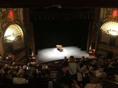Palace Theatre (Broadway), section: Mezzanine, row: J, seat: 111