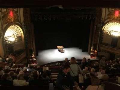 Palace Theatre (Broadway), section: Mezzanine, row: J, seat: 111
