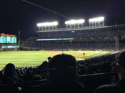 Wrigley Field, section: 204, row: 2, seat: 110