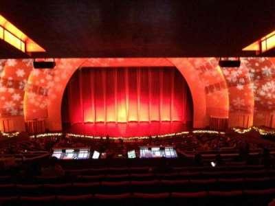 Radio City Music Hall, section: 2nd Mezzanine, row: K, seat: 407