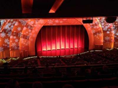 Radio City Music Hall, section: 2nd Mezzanine, row: J, seat: 607