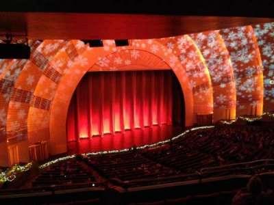 Radio City Music Hall, section: 2nd Mezzanine, row: G, seat: 709